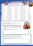Australian Curriculum Number and Algebra Worksheet - Year 5