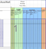 Australian Curriculum Numeracy (ALL YEARS) Spreadsheet Analyser