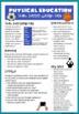 Australian Curriculum P.E Project: Design Passes using ICT