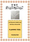 Australian Curriculum Physical Education Planning Tool Foundation