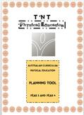 Australian Curriculum Physical Education Planning Tool Yea