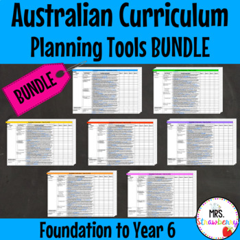 Australian Curriculum Planning Tool Bundle