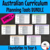 Australian Curriculum Planning Tool Bundle