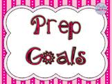 Australian Curriculum Prep Goals