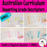 Australian Curriculum Reporting Grade Descriptors: Health