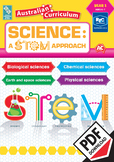 Australian Curriculum Science: A STEM approach – Year 1