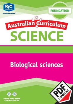 Australian Curriculum Science: Biological sciences – Foundation
