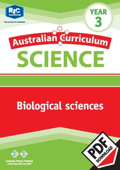 Australian Curriculum Science: Biological sciences – Year 3