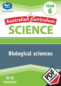 Australian Curriculum Science: Biological sciences – Year 6