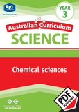 Australian Curriculum Science: Chemical science – Year 3