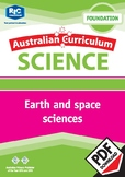 Australian Curriculum Science: Earth and space sciences – Foundation