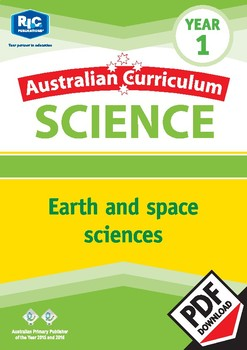 Australian Curriculum Science: Earth and space sciences – Year 1