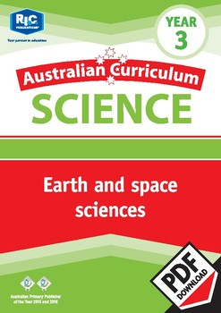 Australian Curriculum Science: Earth and space sciences – Year 3