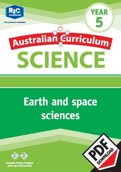 Australian Curriculum Science: Earth and space sciences – Year 5