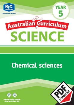 Australian Curriculum Science: Chemical sciences – Year 5