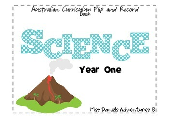 Australian Curriculum Science Flap Book Yr 1