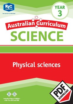 Australian Curriculum Science: Physical sciences – Year 3