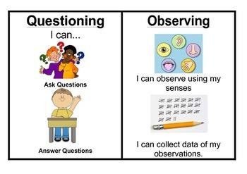 Australian Curriculum Science Skills - Gr 1/2