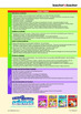 Australian Curriculum Science Y2 - Y3 Scope and Sequence Chart
