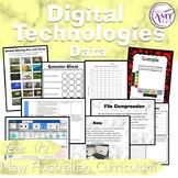 Australian Curriculum Year 1 & 2 Digital Technologies Data Unit