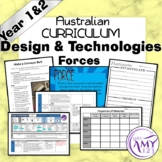 Australian Curriculum Year 1 & 2 Design & Technologies Forces Unit