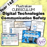 Australian Curriculum Year 1 & 2 Digital Technologies Communication Safety Unit