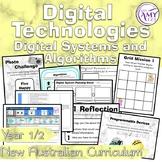 Australian Curriculum Year 1 & 2 Digital Technologies Digi