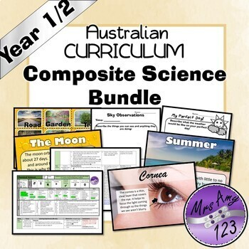 Australian Curriculum Year 1 /2 Ultimate Composite Bundle