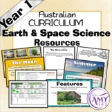 Australian Curriculum Year 1 Earth & Space Science Resources Unit