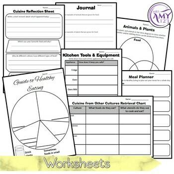 Australian Curriculum Year 1 & 2 Design & Technologies Plants & Animals Unit
