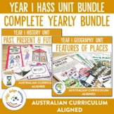 Australian Curriculum Year 1 HASS Unit Bundle