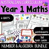 Australian Curriculum Year 1 Number and Algebra Bundle