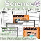 Australian Curriculum Year 2 Chemical Science Materials Unit