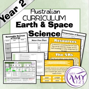 Australian Curriculum Year 2 Earth and Science Unit