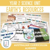 Australian Curriculum Year 2 Science Unit Earth's Resources