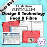 Australian Curriculum Year 3/4 Design and Technologies Food & Fibre Unit