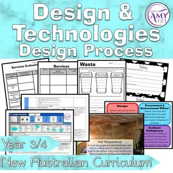 Australian Curriculum Year 3/4 Design and Technologies Design Process Unit