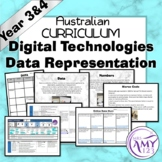 Australian Curriculum Year 3/4 Digital Technologies Data Representations Unit
