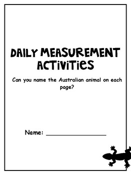 Australian Curriculum Year 5/6 Daily Measurement Booklet Worksheets