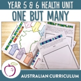 Australian Curriculum Year 5&6 Health Unit - Diversity