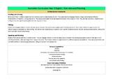 Australian Curriculum Year 5 English Overview SCASA