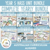 Australian Curriculum Year 5 HASS Unit Bundle