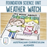 Australian Curriculum Foundation Science Unit Weather Watch