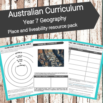 Australian Curriculum - Year 7 Geography: Place and liveability resource pack
