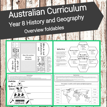 Australian Curriculum - Year 8 - Geography and History ove