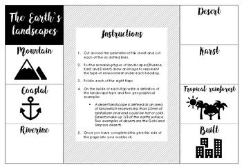 Australian Curriculum - Year 8 - Geography and History overview foldables