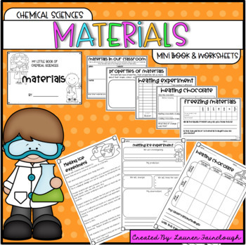 Australian Curriculum Year One Science Bundle