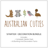 Australian Cuties Classroom Decor and Party Pack