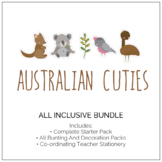 Australian Cuties Classroom Decor - All Inclusive Pack (The Lot!)