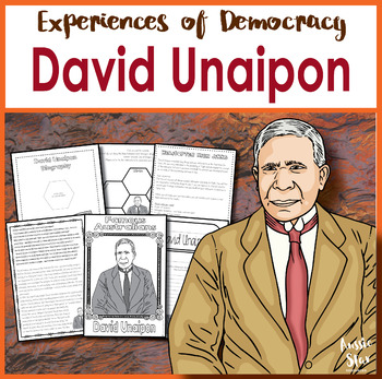Australian Democracy - David Unaipon Activity Pack